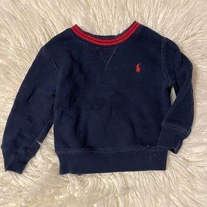 Polo Ralph Lauren navy sweatshirt 2T